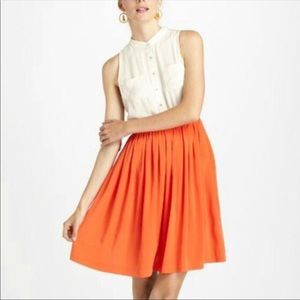 Anthropologie postmark color block dress